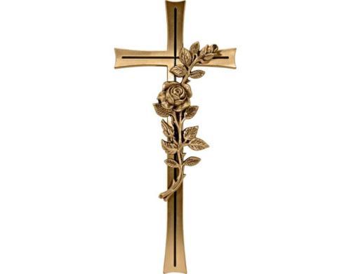 Krzyż z różą 2438