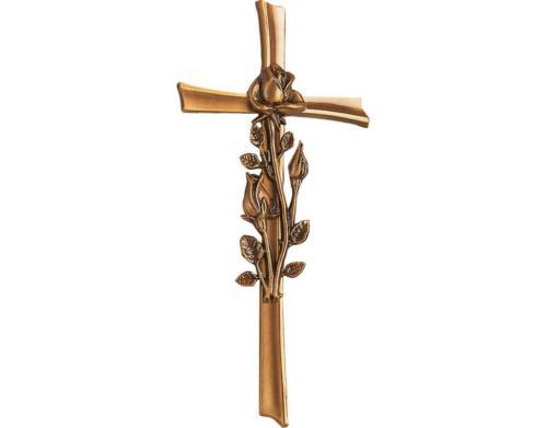 Krzyż z różą 2537