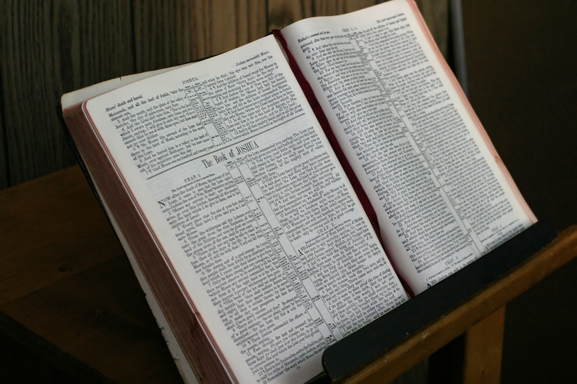 a bible ready to preaching